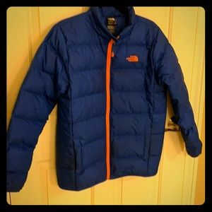 North Face boys puffer jacket